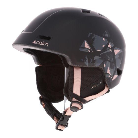 Cairn, Meteor ski helmet unisex powder black, pink