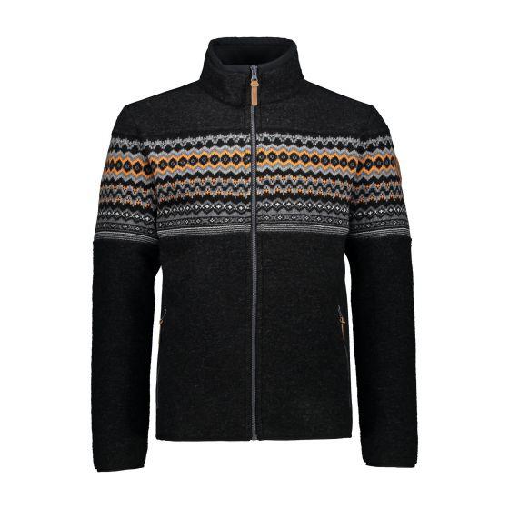 CMP, 30M3217 jacket men carbon grey