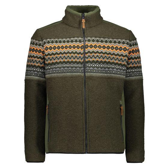 CMP, 30M3217 jacket men oil green