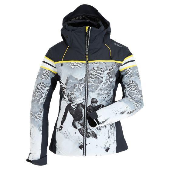CMP, 30W0826 ski jacket women antracite grey
