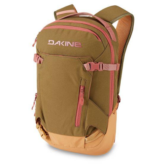 Dakine, Women'S Heli Pack 12L backpack women dark olive green