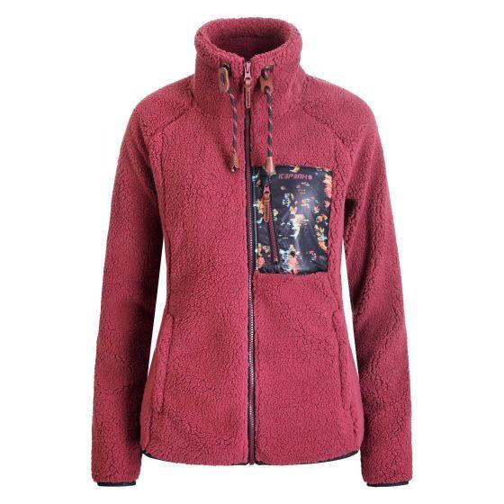 Icepeak, Croix jacket women burgundy red