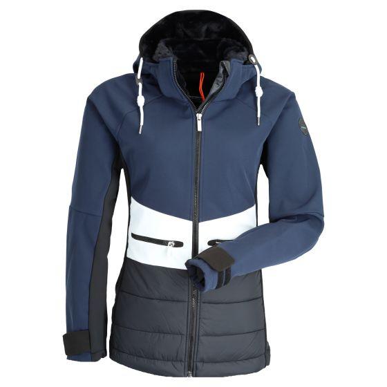 Icepeak, Ely softshell ski jacket women dark blue