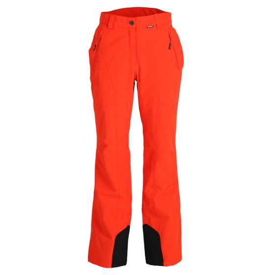 Icepeak, Freyung ski pants slim fit women coral red