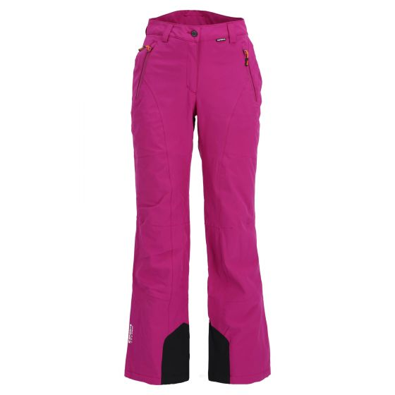Icepeak, Freyung ski pants slim fit women violet purple