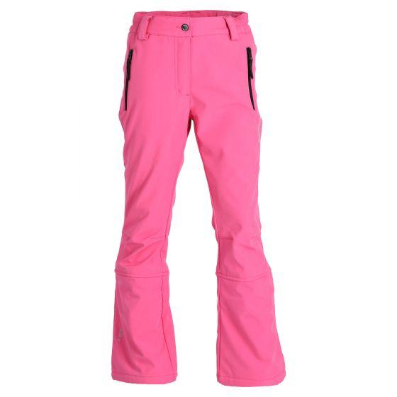 Icepeak, Lenexa Jr softshell ski pants slim fit kids hot pink