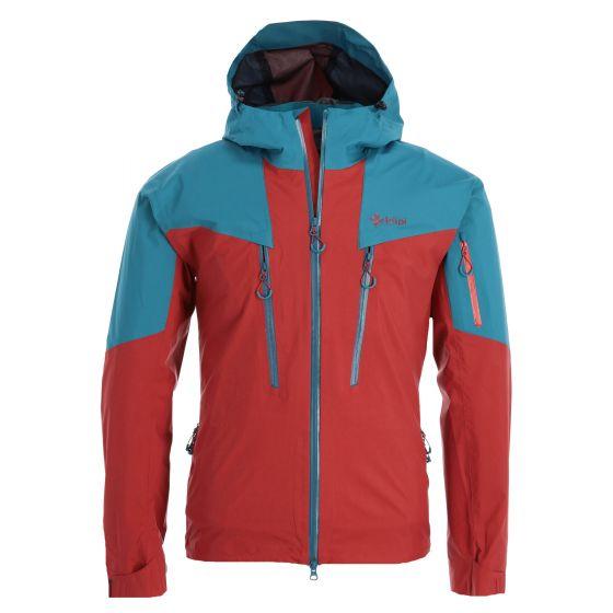 Kilpi, Lexay-M hardshell ski jacket men dark red