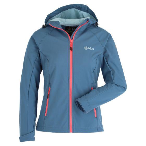 Kilpi, Mila-W softshell ski jacket women blue