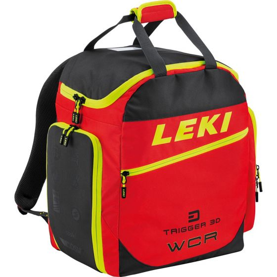 Leki, Skiboot Bag Wcr 60L ski boot bag unisex yellow/red/black