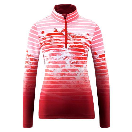Maier Sports, Tenya pullover women print red