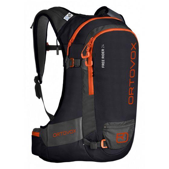 Ortovox, Free Rider 24 backpack unisex raven blend black