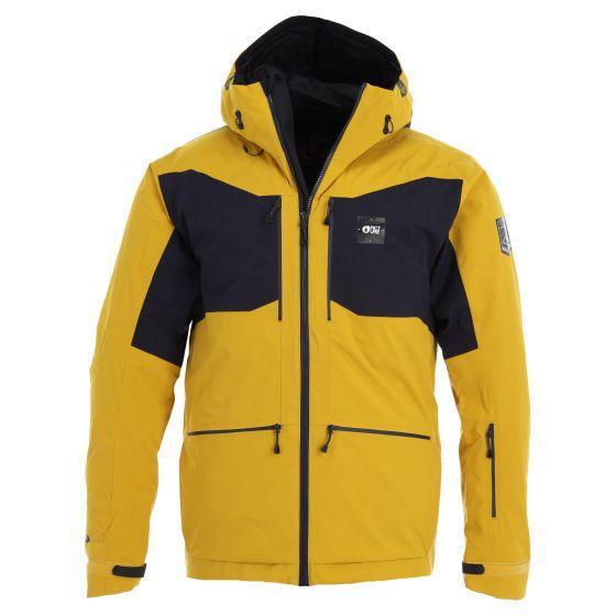 Picture, Naikoon Jkt ski jacket men safran grey