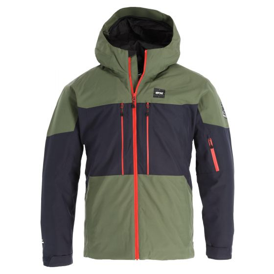 Picture, Picture Object Jkt ski jacket men dark blue/green