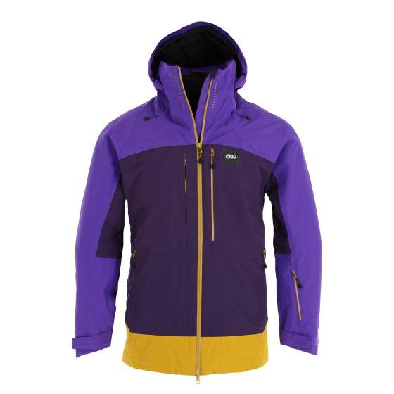 Picture, Track Jkt ski jacket men dark purple