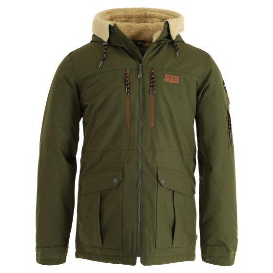 Picture, Vermont Jkt ski jacket men army green