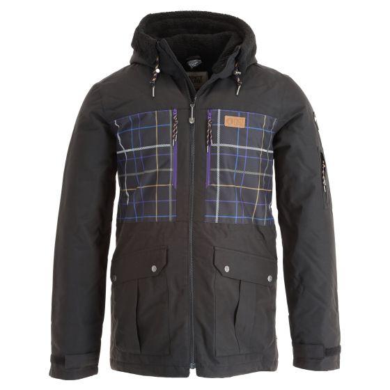 Picture, Vermont Jkt ski jacket men tartan black