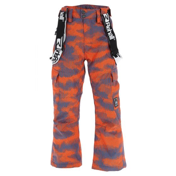 Rehall, Edge-R-Jr ski pants kids camo orange