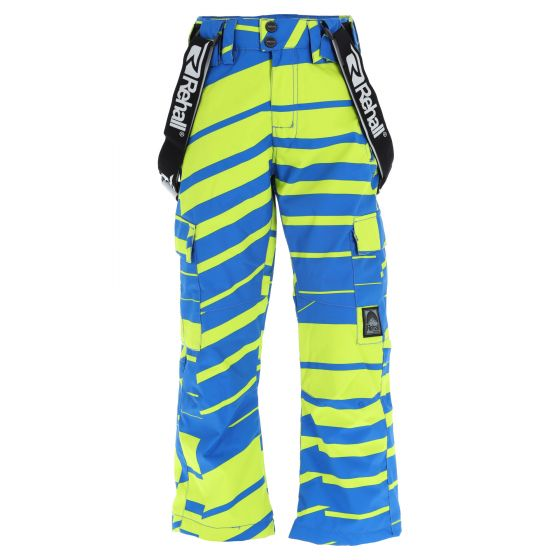Rehall, Edge-R-Jr ski pants kids slants lime green