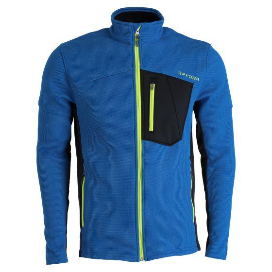 Spyder, Bandit Full Zip sweater men old glory blue