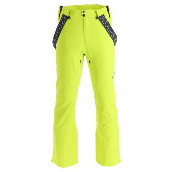 Spyder, Bormio GTX ski pants men lime green