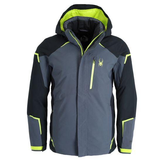 Spyder, Copper GTX ski jacket men ebony grey