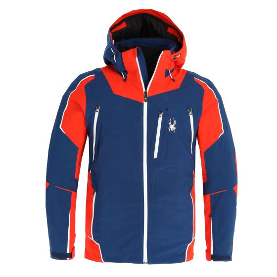Spyder, Leader GTX ski jacket men blue/red