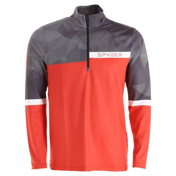 Spyder, Paramount pullover men red/black