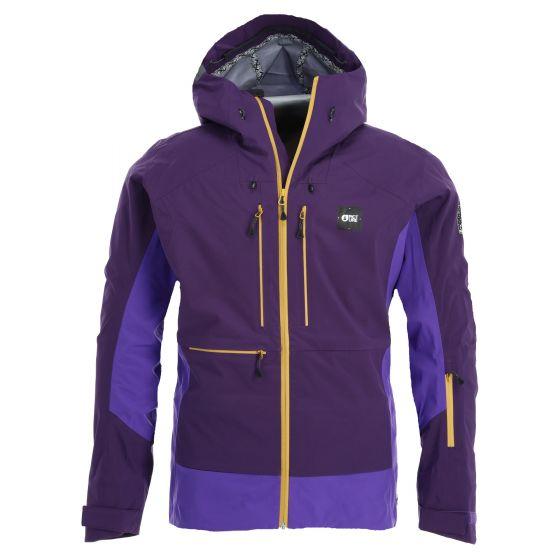 Picture, Welcome Jkt hardshell ski jacket men dark purple