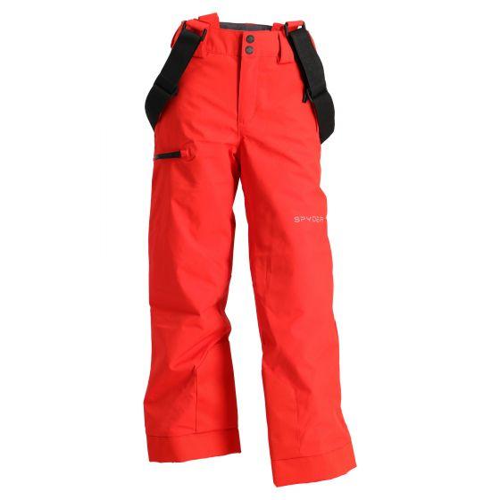 Spyder, Propulsion, ski pants, kids, volcano red
