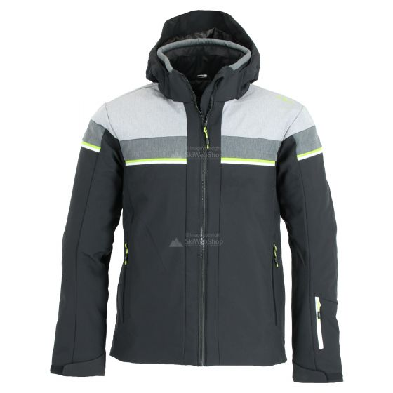 CMP Mens Zipped Softshell Jacket With Hood Jacket