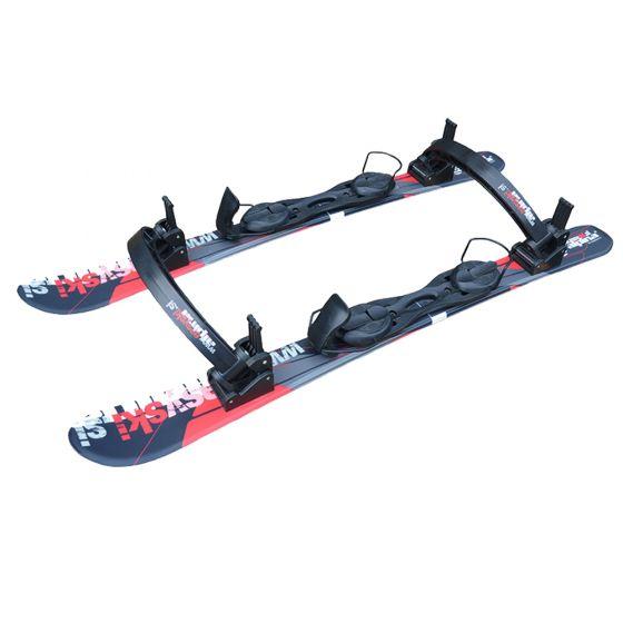 Pro Ski Simulator, Easy Ski Simulator, black red