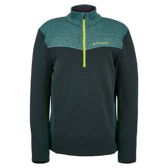 Spyder, Encore Half Zip sweater men forest green