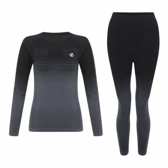 Dare2b, In the zone base layer thermal set women black