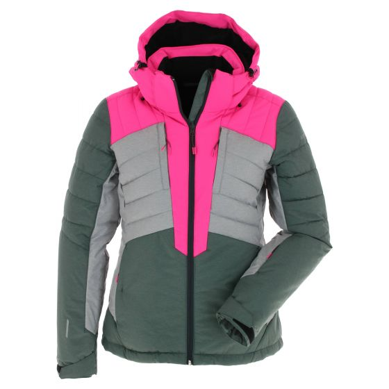 Icepeak, Coleta, ski jacket, women, olive green