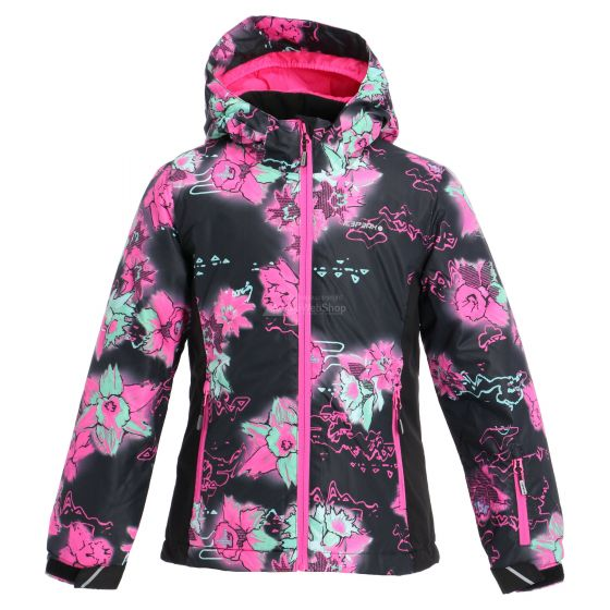Icepeak, Linn JR, ski jacket, kids, black