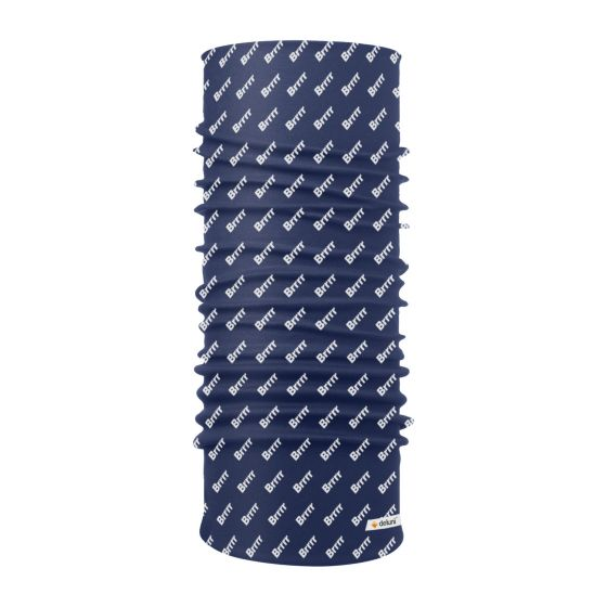 Deluni, Lightweight Neckwarmer Brrr, scarf, blue