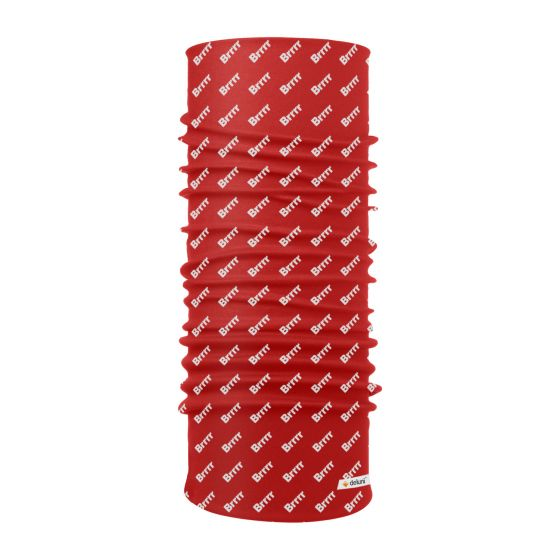 Deluni, Lightweight Neckwarmer Brrr, scarf, red