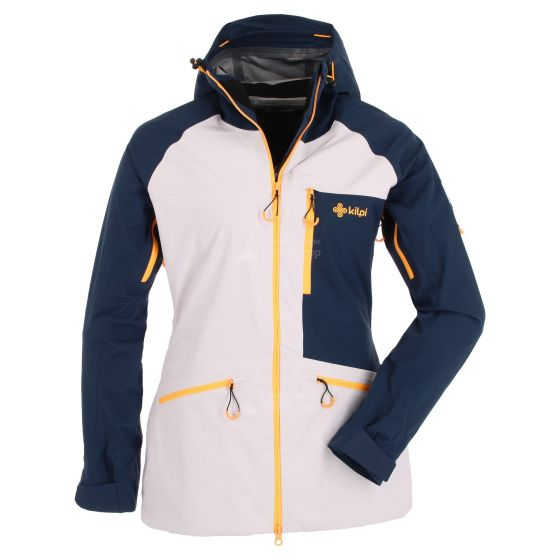 Kilpi, Nalau, hardshell ski jacket, women, dark blue