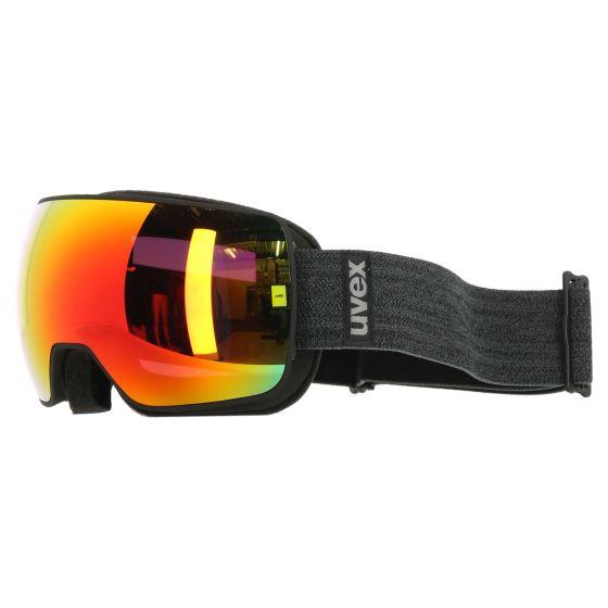 Uvex, Compact FM goggles mat  black