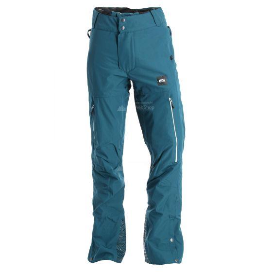 Picture, Object, ski pants, men, petrol blue