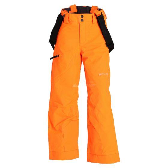 Spyder, Propulsion, ski pants, kids, bryte orange