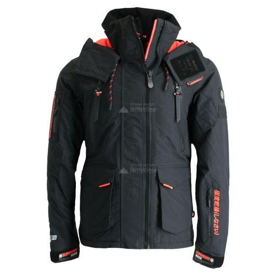 Superdry Ultimate Snow Rescue Ski Jacket Men Onyx Black Skiwebshopskiwebshop Com