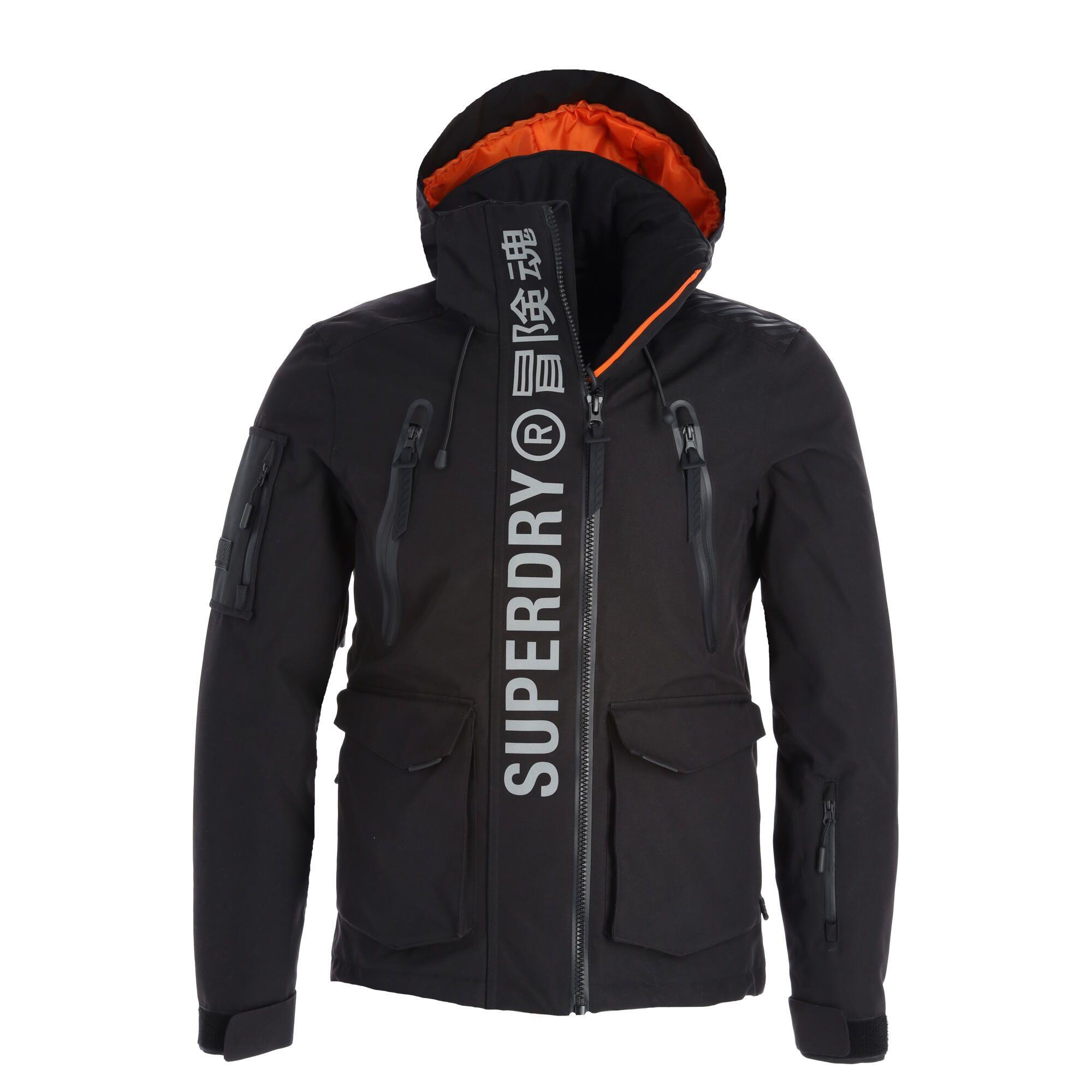 Superdry Ultimate Mountain Rescue Jkt Ski Jacket Men Black Skiwebshopskiwebshop Com