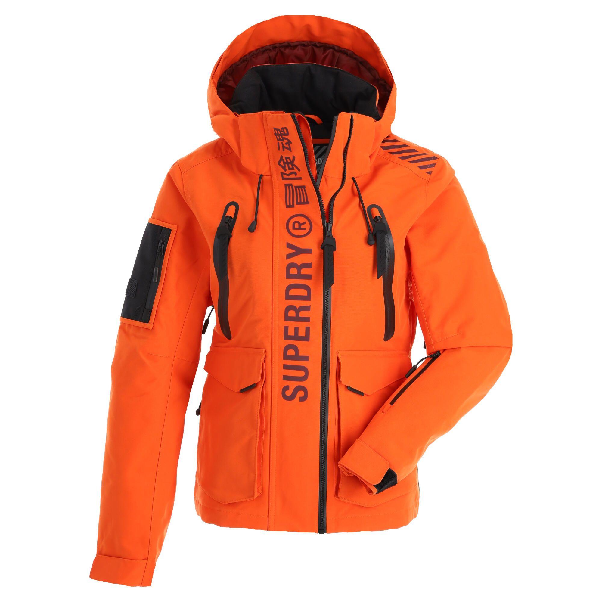Superdry Ultimate Rescue Jacket Ski Jacket Women Havana Orange Skiwebshopskiwebshop Com