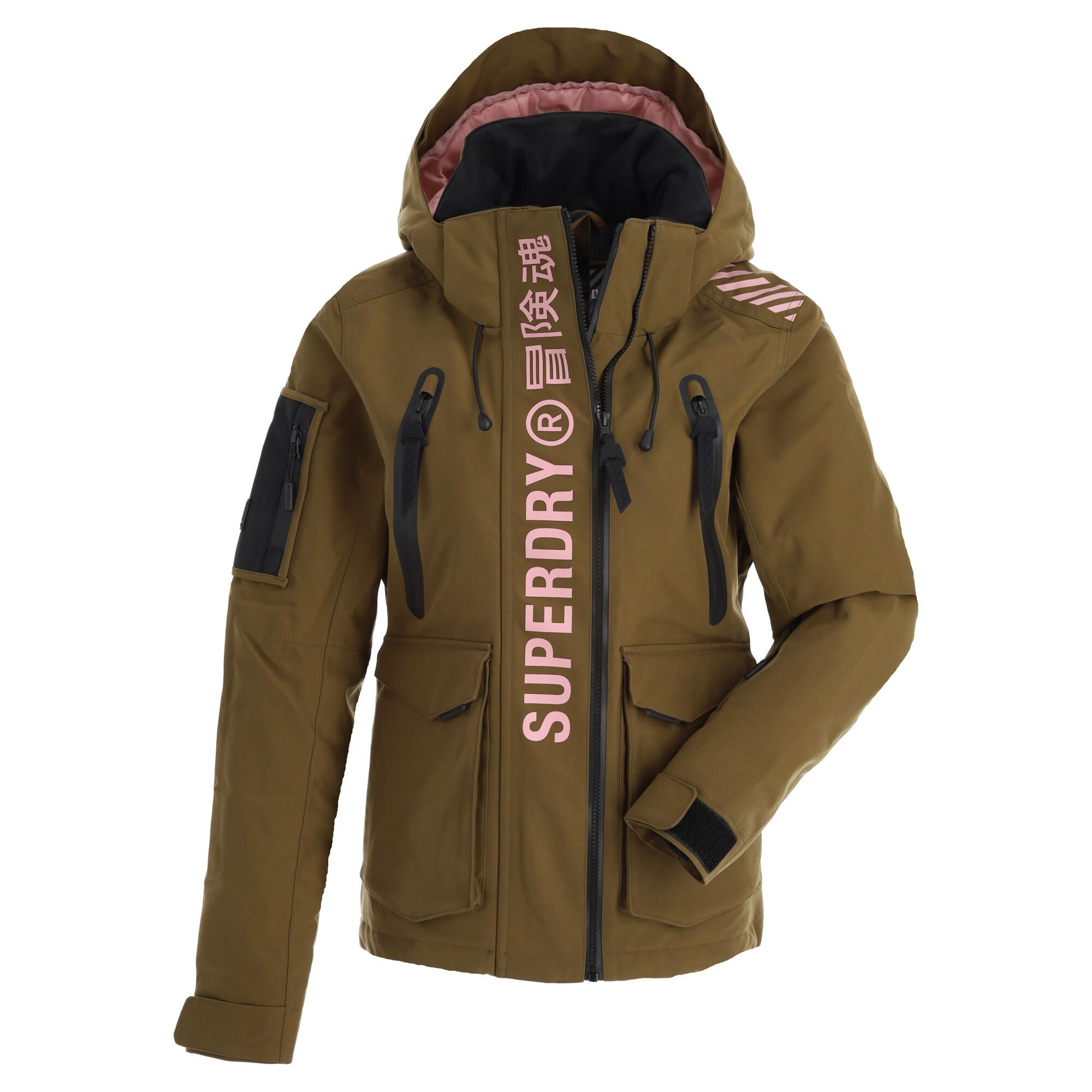 Superdry Ultimate Rescue Jacket Ski Jacket Women Dusty Olive Green Skiwebshopskiwebshop Com