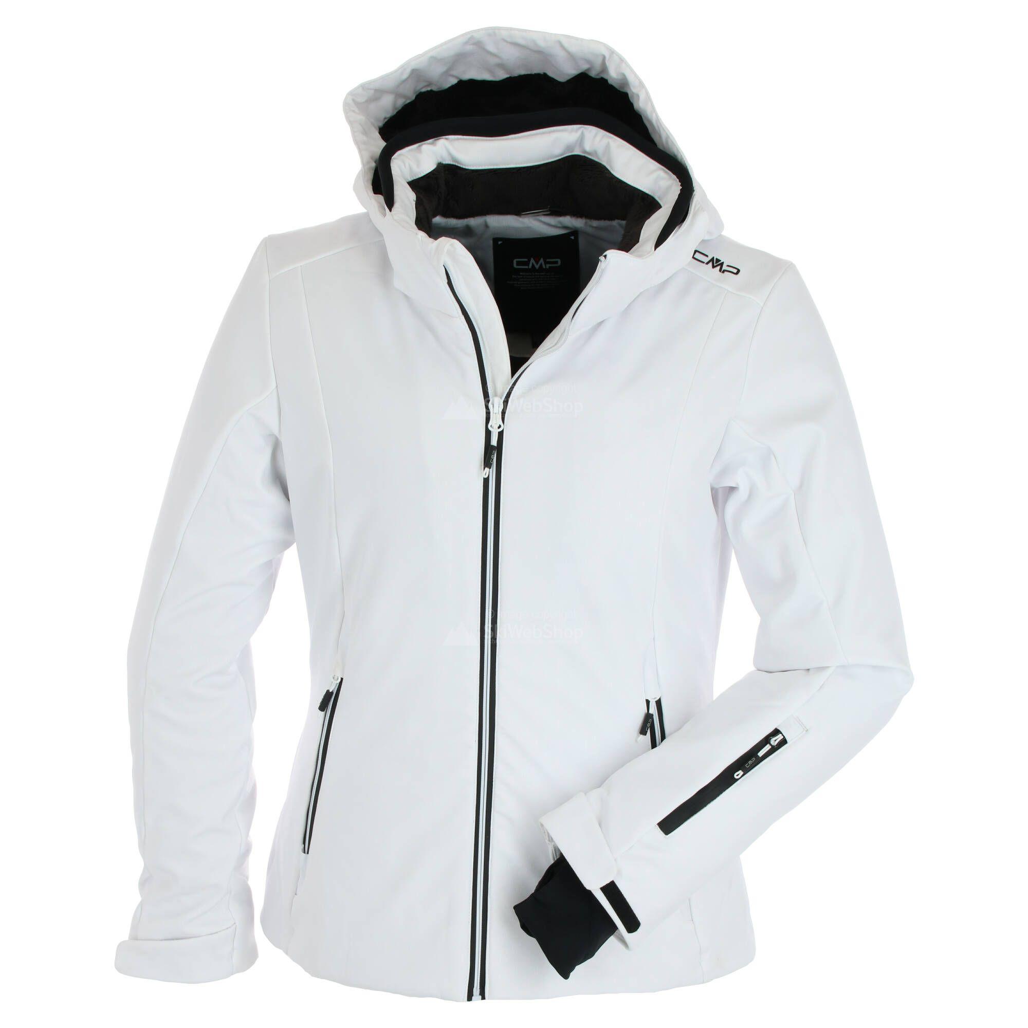 Details about  /CMP Ski Jacket Snowboard Jacket Woman Zip Hood Dark Blue