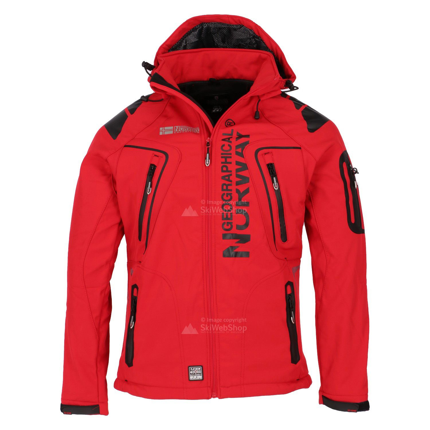 Geographical Norway Mens Tambour Softshell Jacket