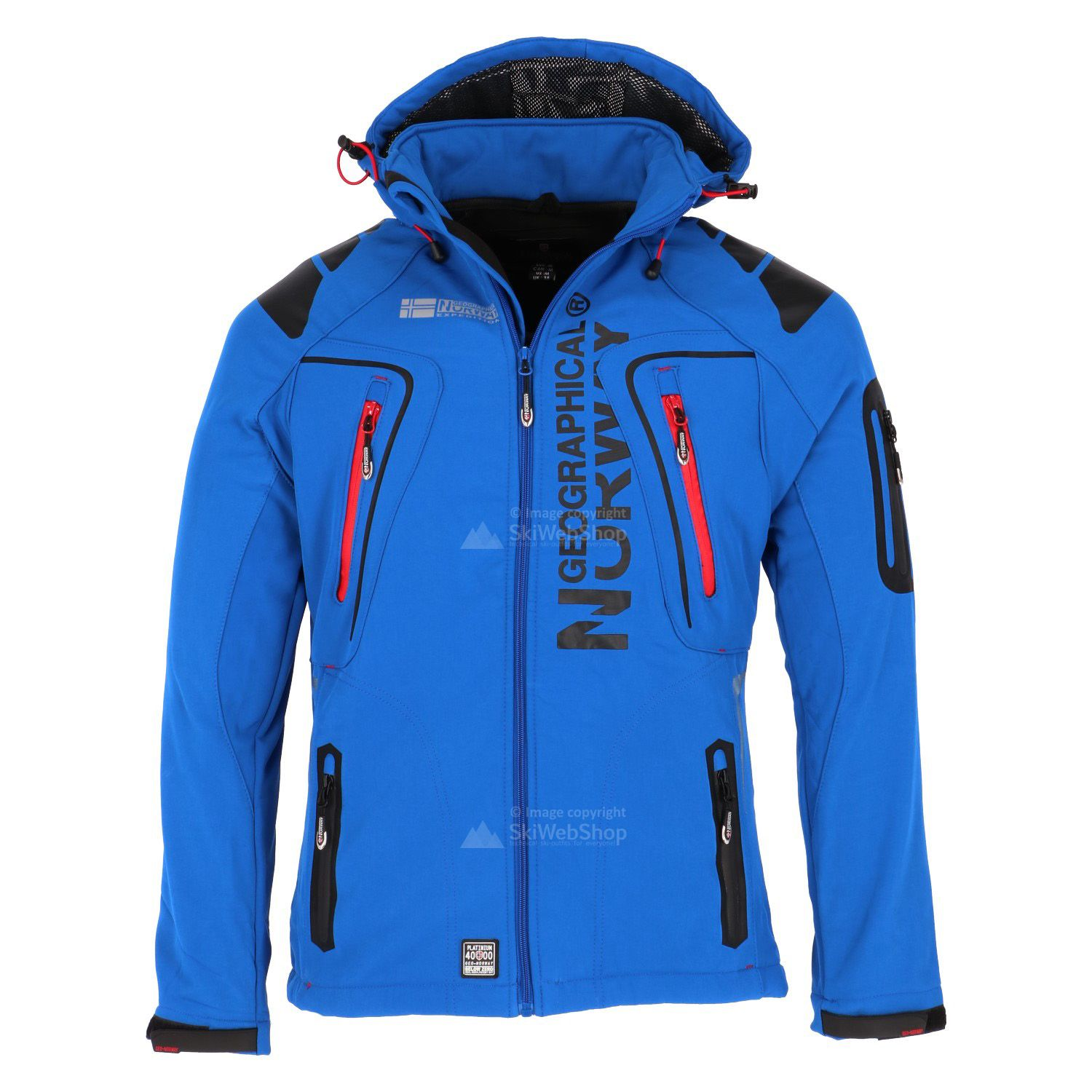 Geographical Norway Tambour Mens Softshell Jacket