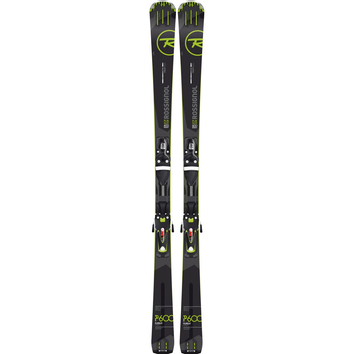 Fluid X 16//17 OnPiste Allround Carver Alpin Skiset NEU Rossignol Pursuit 600