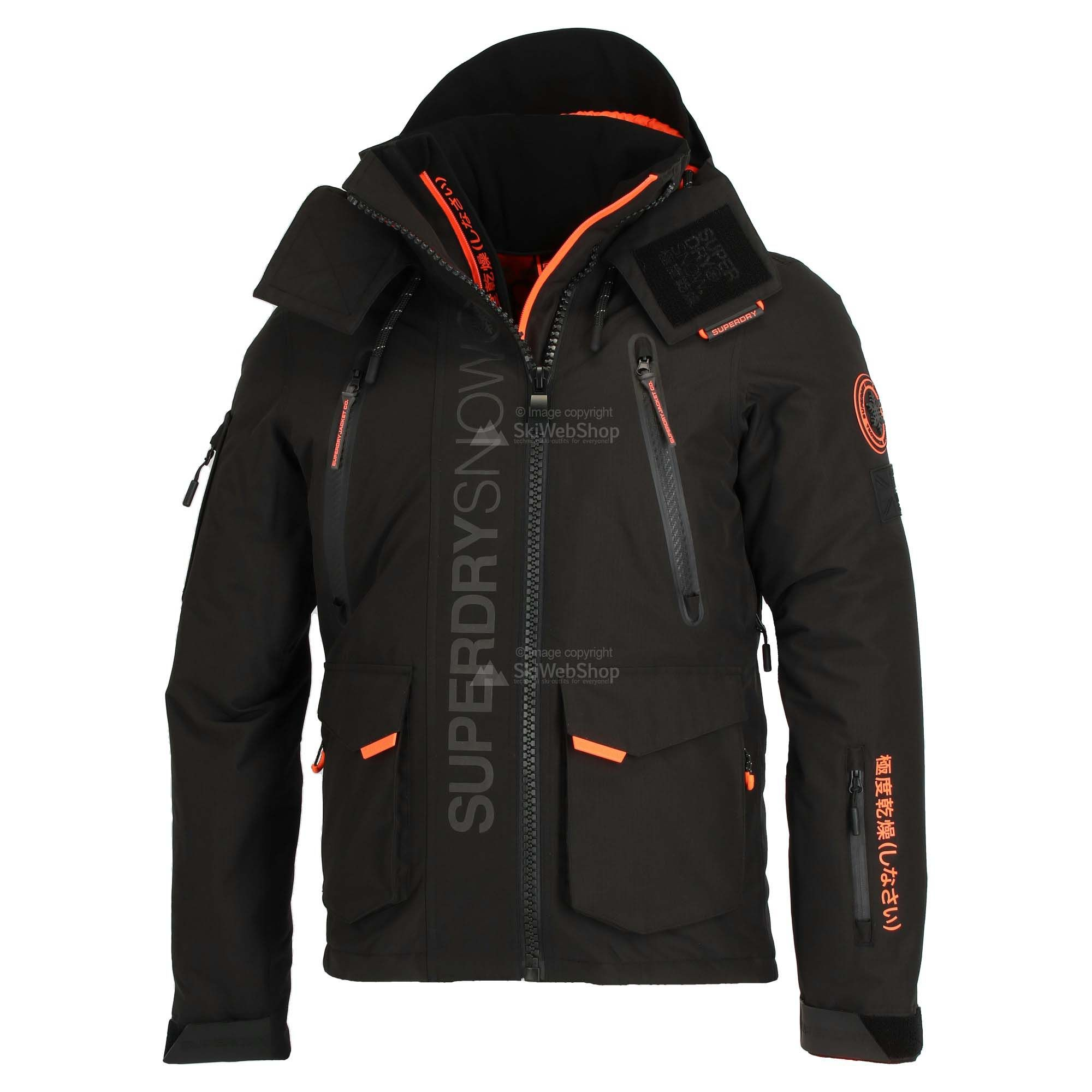 Superdry Ultimate Snow Rescue Ski Jacket Men Black Skiwebshopskiwebshop Com